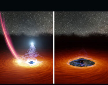 A black hole's corona disappears, then reappears.