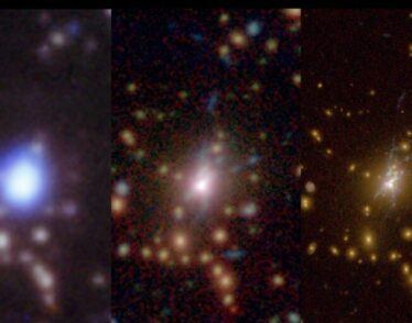 Black hole in the Phoenix galaxy