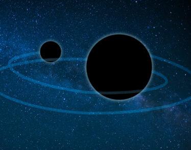 Black holes merging