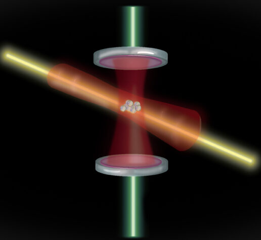 optical cavity composed of two mirrors