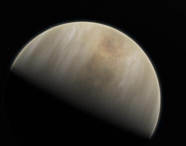 Artistic impression of Venus