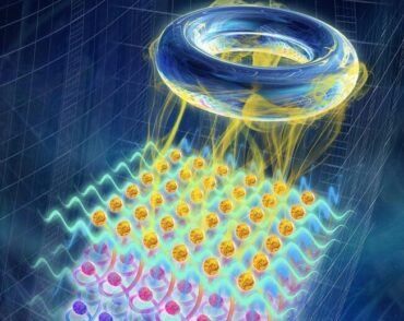 Artistic impression depicts ultra-quantum matter