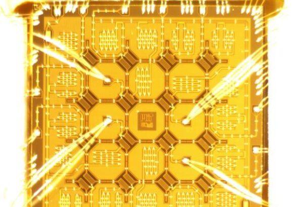 16-qubit superconducting quantum chip