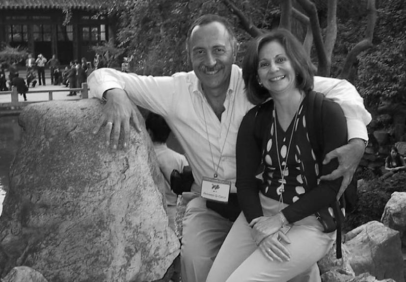 Riccardo and Raquel Di Capua