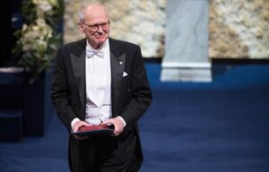 Rainer Weiss after receiving his Nobel Prize