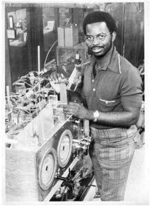 Ronald McNair as a PhD student at MIT, 1970s