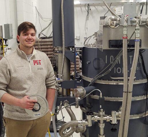 MIT graduate student Daniel Korsun '20