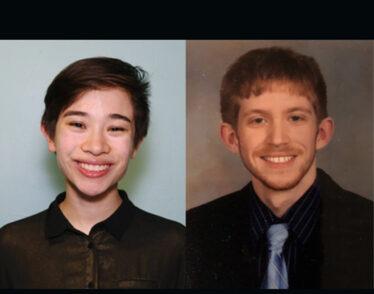Caitlin Fischer and Luke Weisenbach