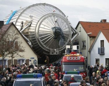 The Karlsruhe Tritium Neutrino Experiment, or KATRIN, is a massive detector based in the town of Karlsruhe, Germany.