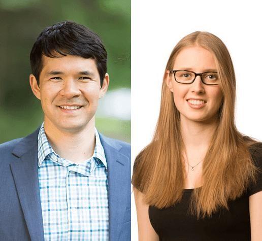 New physics faculty Kiyoshi Masui and Phiala Shanahan