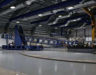 Part of the resonant inelastic x-ray scattering (RIXS) instrument at Diamond Light Source (UK)