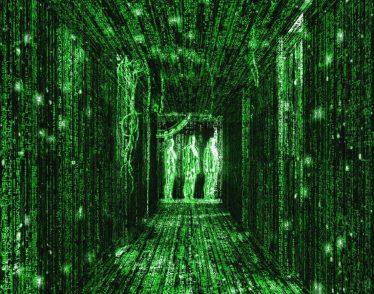 Still from The Matrix film
