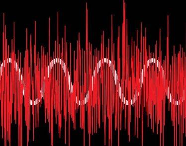 Illustration of sound wave