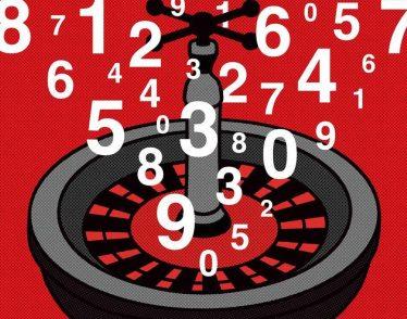 Illustration of roulette wheel
