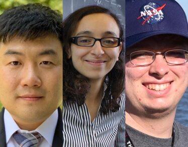 Headshots of Soonwon Choi, Lina Necib, and Andrew Vanderburg