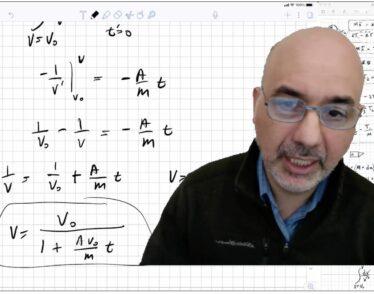 Professor Ray Ashoori within his 8.022 virtual classroom